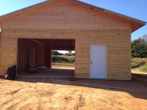 30'x40' Tractor shed